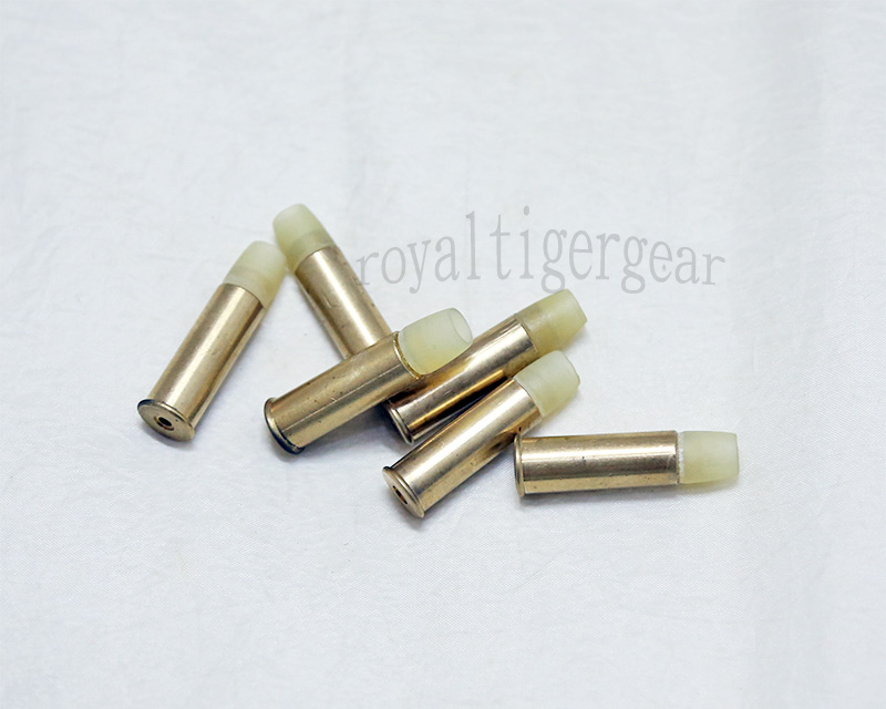WELL Webley MKVI Break Top CO2 Revolver 6mm Shell 6pcs