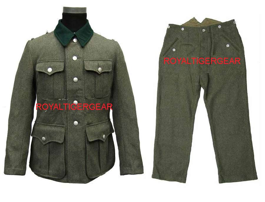 WW2 German M36 Infantry Soldier Jacket Pants Uniform