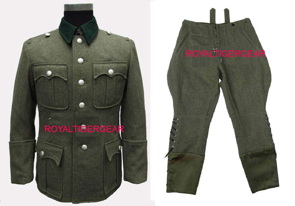 WW2 German M36 Infantry Officer Jacket Pants Uniform