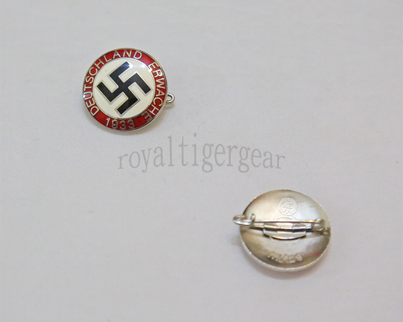 WW2 German Deutschland Erwache 1933 Pin badge