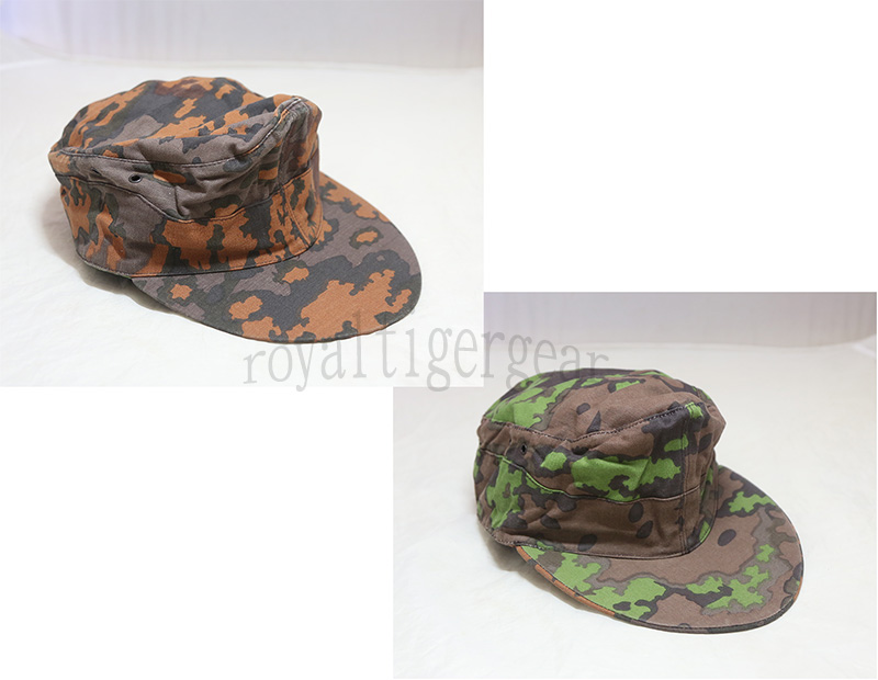 WW2 German Army SS Oak Leaf Camo Cap