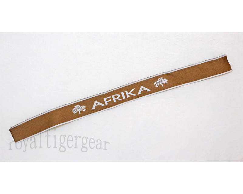 WW2 German Cuff Title - Afrika