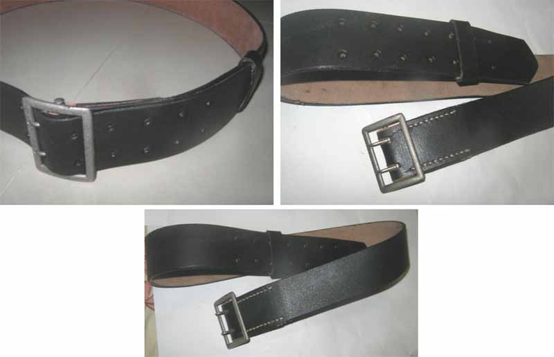 WW2 German Dress Belt with Double Buckles