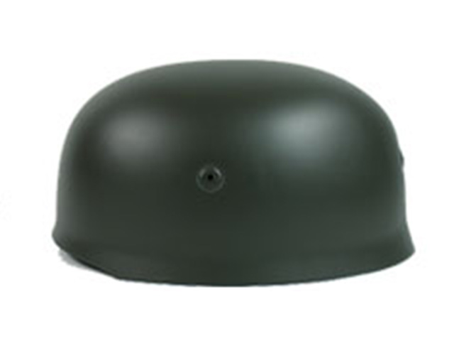 WW2 German M38 Airborne Paratrooper Helmet - Dark Green