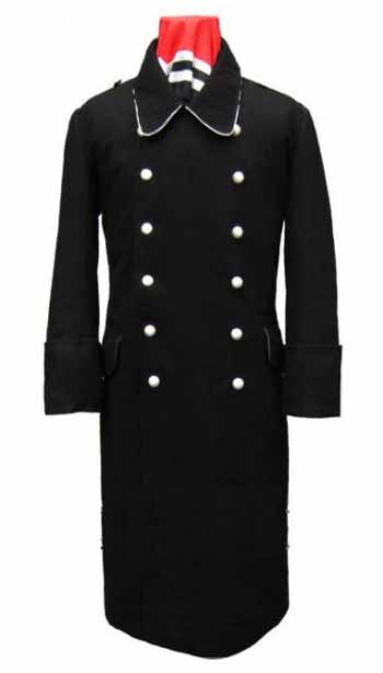 WW2 Germany M32 Black Great Coat
