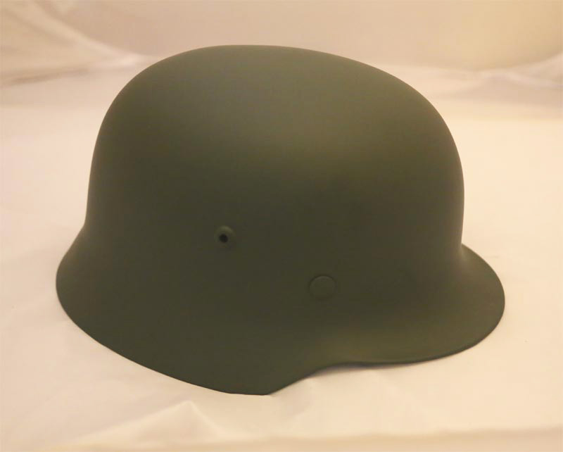WW2 German M35 Steel Helmet Liner Chinstrap Repro - Green
