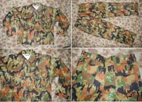 WW2 German M45 Leibermuster Camo Tunic Fatigue Pants Uniform