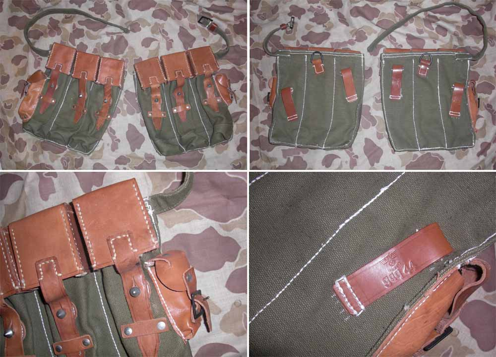 WW2 German MP44 Stg44 Ammo Pouch