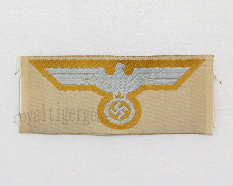 WW2 German Chest Eagle insignia - DAK Tan