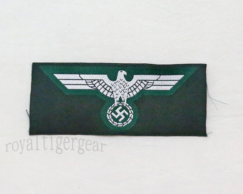 WW2 German Chest Eagle insignia - Green