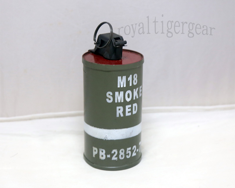 US M18 Dummy Smoke Grenade Model - Ver. Heavy - Red