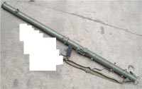 WW2 US Bazooka M9 Rocket Launcher