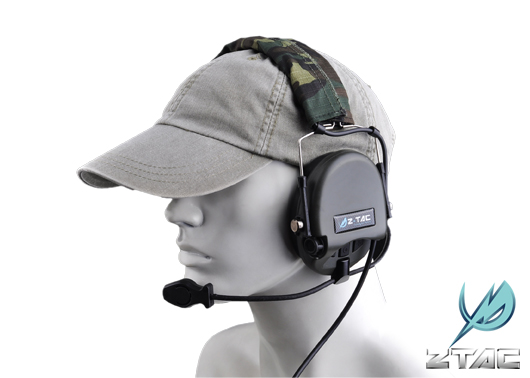 Z-TACTICAL zTEA Hi-Threat Tier 1 Headset - Z110 – Headband Version for under Helmet