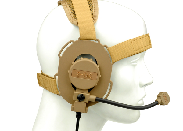 Z-TACTICAL zBowman Evo III Field Headset – For Left / Right side - Tan