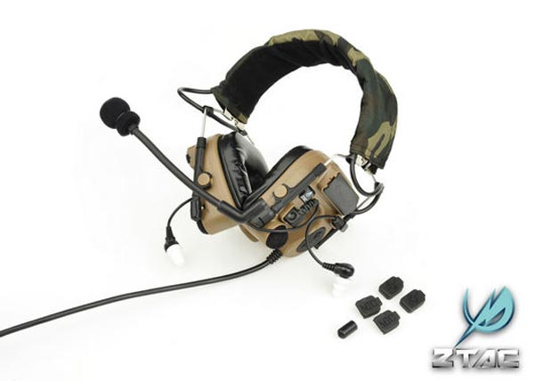 Z-TACTICAL zCOMTAC IV Field Headset – Dark Earth
