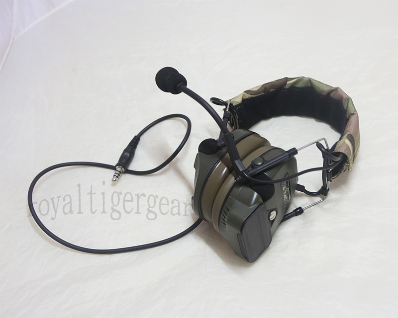 Z-TACTICAL zCOMTAC I Field Headset - Multicam Cover