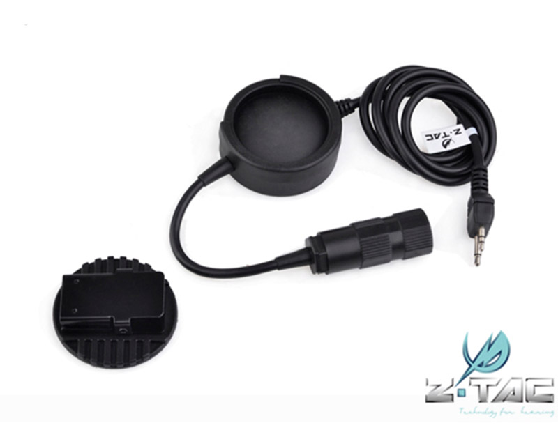 Z-TACTICAL TCI New Headset Plug Hole Push-To-Talk PTT -  Z138